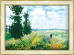 125.모네 - 아르장퇴유의 양귀비 꽃밭